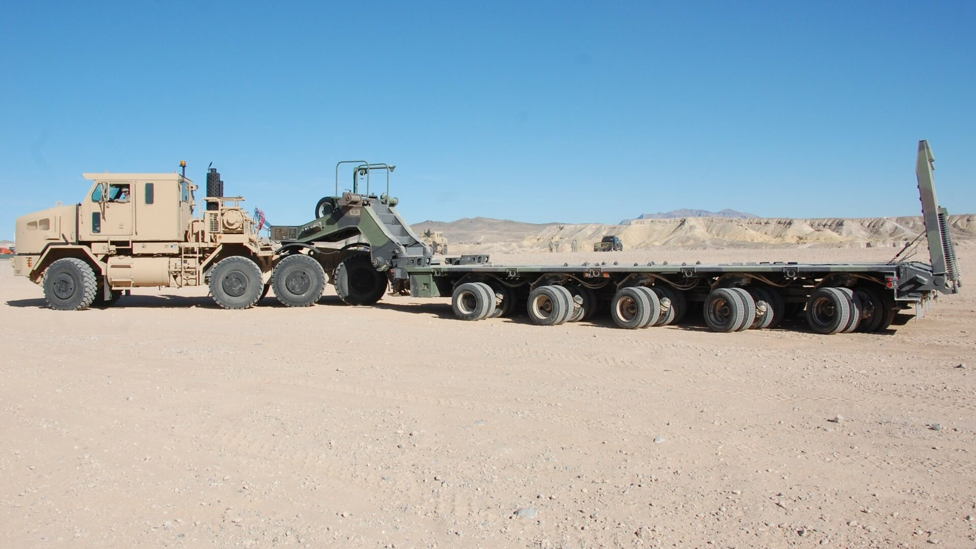 Military-grade towing truck