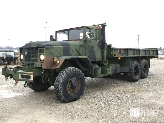 Camouflage-painted military truck