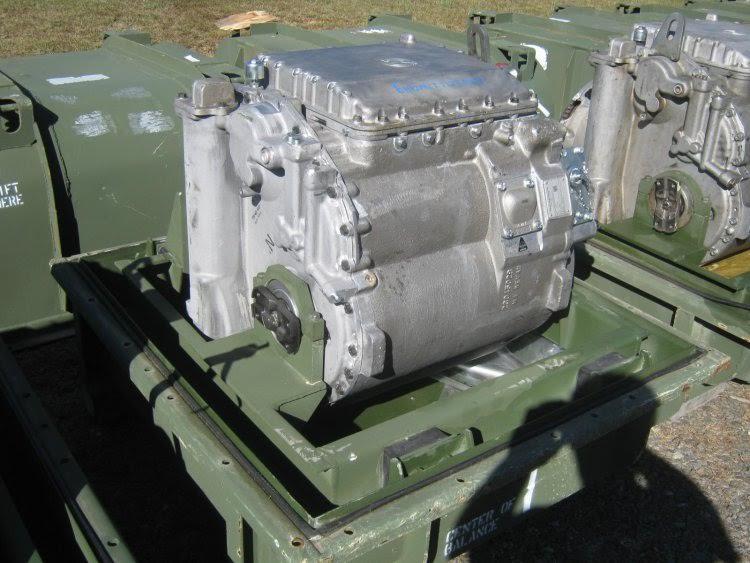 Military Vehicle Engine